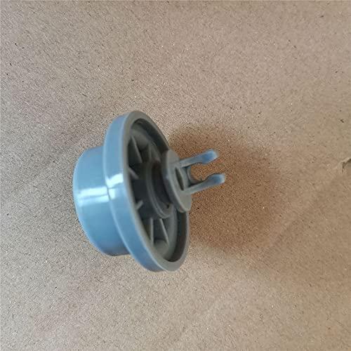 Rueda de repuesto para lavavajillas Siemens Ruedas inferiores inferiores de rodillo de cesta para Bosch Neff 165314 Piezas de lavavajillas