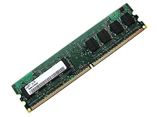 Samsung 8Gb 4x 2Gb Ram Speicher 800Mhz Pc2-6400 M378T5663QZ3-CF7 double sided für DDR2 800Mhz Computersysteme, 100% kompatibel zu 667Mhz