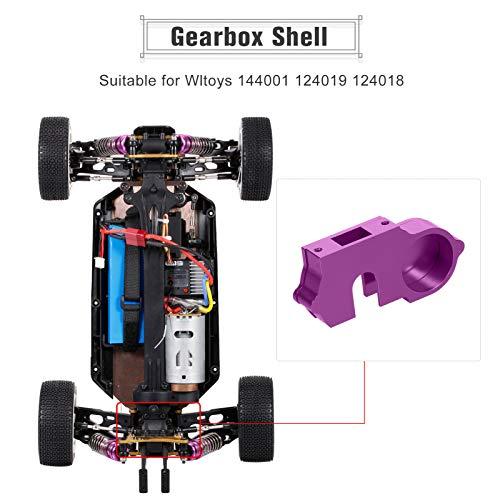 Goolsky für Wltoys 144001 124019 124018 1/14 1/12 RC Car Alloy Getriebe Shell Car Parts