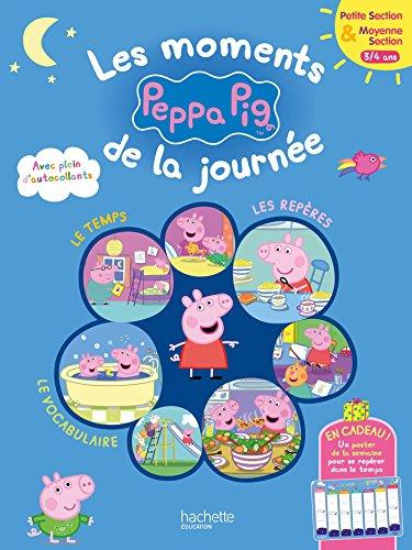 Les moments de la journée avec Peppa PS-MS (Peppa Pig)