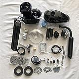 49cc 2 Bicicleta Motocicleta Motocicleta Kit de Motor de Gasolina para la Bicicleta eléctrica de Bricolaje Bicicleta de montaña Conjunto Completo de la Bicicleta Motor Motor Motor (Color : Black)