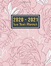 2020-2021 Two Year Planner: 2 year calendar 2020-2021 monthly planner | Jan 2020 - Dec 2021 | 24 Months Agenda Planner with Holiday | Personal ... Dec 2021 ) (2 year monthly planner 2020-2021)