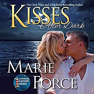 Kisses after Dark     Gansett Island Series, Book 12              By:                                                                                                                                 Marie Force                               Narrated by:                                                                                                                                 Holly Fielding                      Length: 10 hrs and 37 mins     213 ratings     Overall 4.5