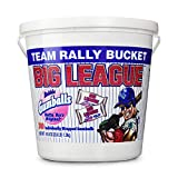 Big League Team Rally Bucket 240 Individually Wrapped Gumballs Net Wt. 50.8 oz