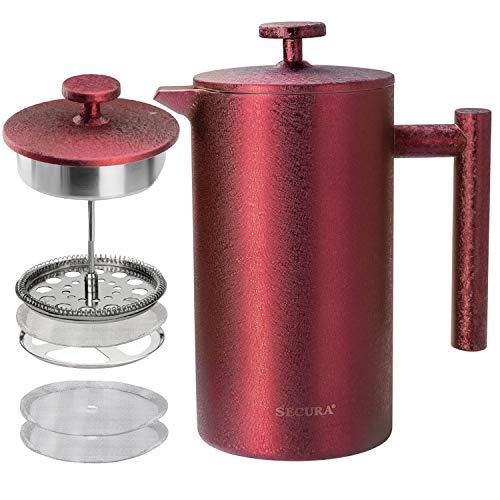 Cafetera Roja  marca Secura