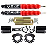 WULF 3' Full Lift Kit compatible with 2005-2020 Toyota Tacoma 2WD 4X4 w/Rear Shocks