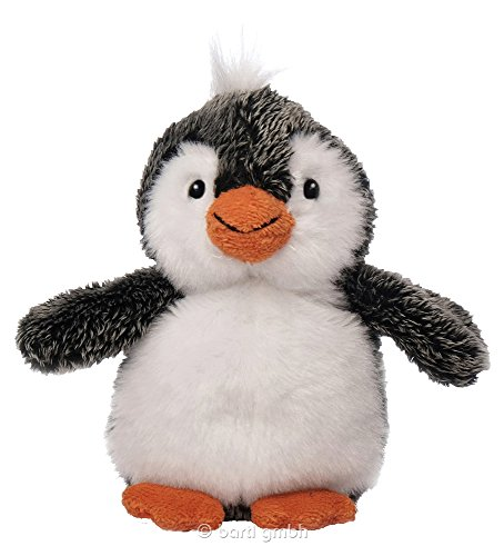 Inware 5650 - Kuscheltier Pinguin Flapsi, 13 cm, Schmusetier
