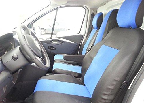 2 + 1 stoelhoezen zwart blauw polyester met tafel stoelbekleding passende hoezen
