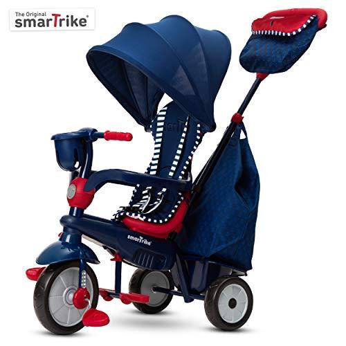 smarTrike 6502502 Dreirad, Marineblau/Rot