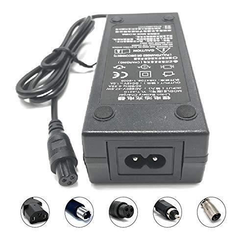 SHDT 42V / 63V / 29.4V Chargeur Adaptateur Secteur pour L'auto Équilibrage Hoverboard Scooters Électriques Au Lithium Chargeur De Batterie,42v1.5a
