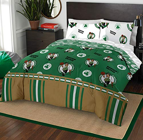 Northwest NBA Boston Celtics Queen Bed in a Bag Complete Bedding Set #210040237