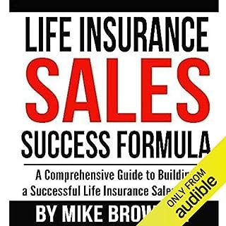 Life Insurance Sales Success Formula audiobook cover art