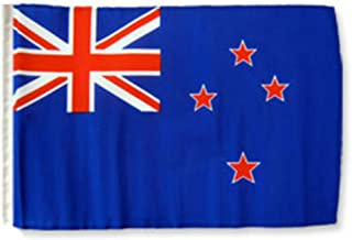 ALBATROS 12 inch x 18 inch New Zealand Sleeve Flag for use on Boat, Car, Garden for Home and Parades, Official Party, All Weather Indoors Outdoors