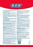 SOS Kohle-Tabletten, Kohletabletten bei Durchfallerkrankungen, Vergiftungen durch Nahrungsmittel, Durchfall Tabletten ideal für die Reiseapotheke, 2 x 30 Tabletten - 5
