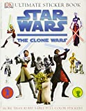 Star Wars: The Clone Wars [With Stickers] (Ultimate Sticker Books)