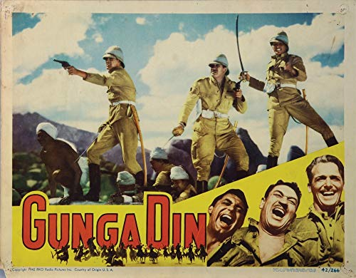 Posterazzi Poster Print Collection EVCMCDGUDIEC020 Gunga Din Still (10 x 8)