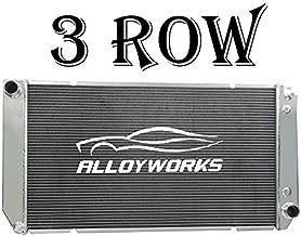 ALLOYWORKS 3 Row All Aluminum Radiator for 1994-2000 Chevy C1500/ K1500/ K3500 Suburban Tahoe Yukon V8 6.5L