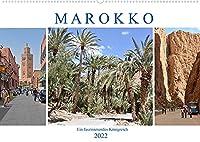 MAROKKO, ein faszinierendes Koenigreich (Wandkalender 2022 DIN A2 quer): Ein Land mit traumhaften Landschaften und einer grossen Geschichte (Monatskalender, 14 Seiten )