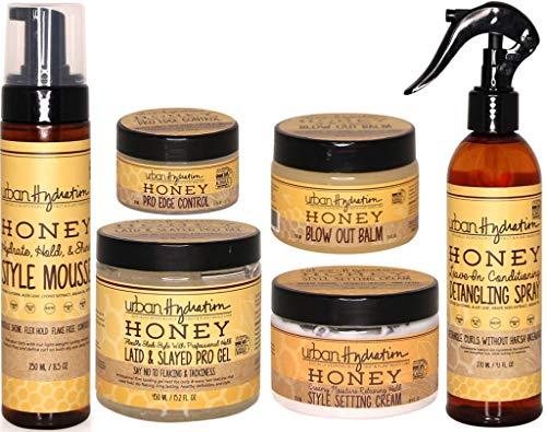 Urban Hydration Honey Hair Complete Styling 6pc Set