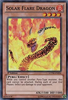 Yu-Gi-Oh! - Solar Flare Dragon (LCYW-EN254) - Legendary Collection 3: Yugi's World - Unlimited Edition - Super Rare by Yu-Gi-Oh!
