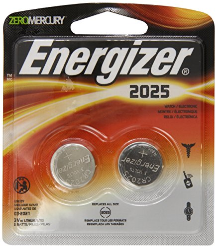 Price comparison product image Energizer 2025BP-2 Lithium Button Cell Battery (2 Count)