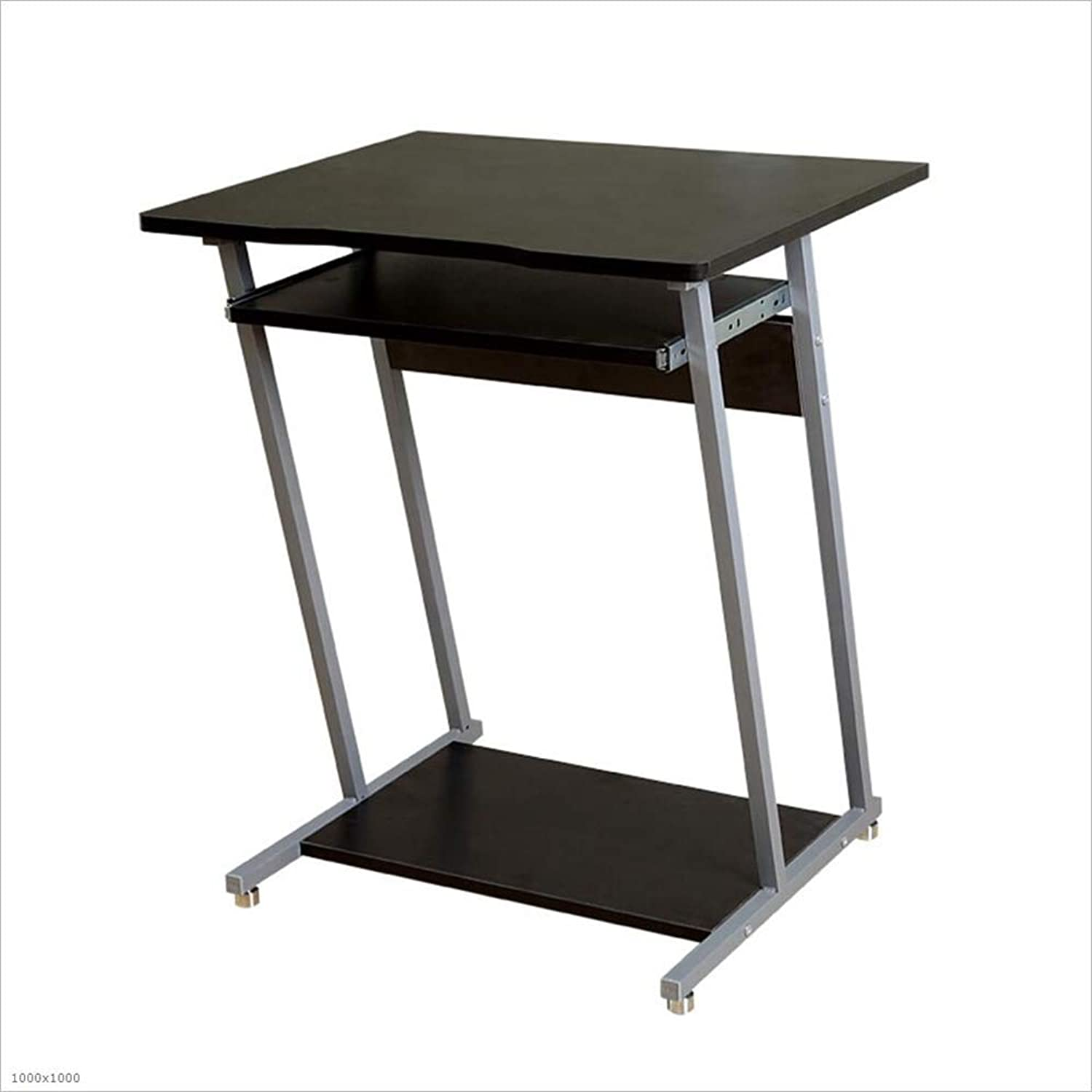 YNN Computer Desk Writing Desk Study Workstation with Sliding Keyboard, Easy Assembly for Home and Office (color   A)