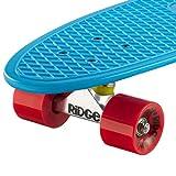 Ridge Skateboard Big Brother Nickel 69 cm Mini Cruiser, blau/rot - 2