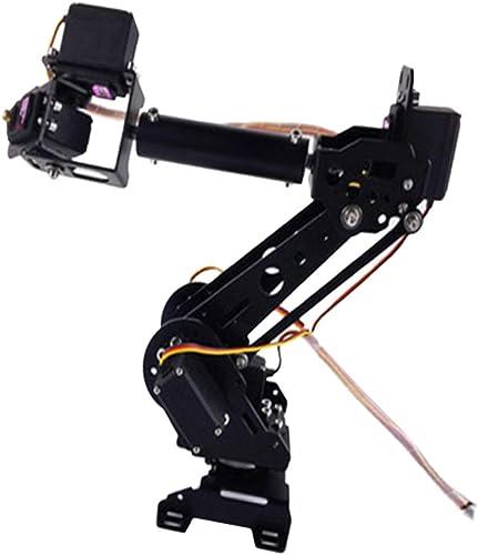 FLAMEER Mechanischer Roboterarm Bausatz als Experiment Modell und Unterricht Material, aus Metall