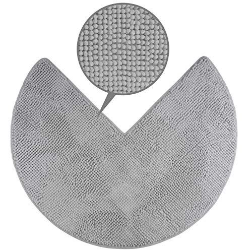 FLUFFY Tapis de Bain en Microfibre de Chenille pour Les douches d