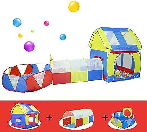 Kinderzelt Ozean Ball Pool Tunnel Rohr Set Baby Spielzeug Baby Indoor Spiel Haus