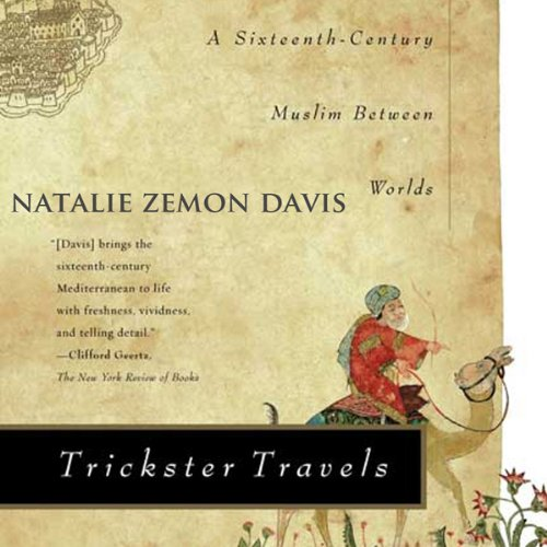 Trickster Travels audiobook cover art