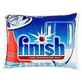 Finish Sal pura para lavavajillas (5 kg, 4 unidades de 5 kg)