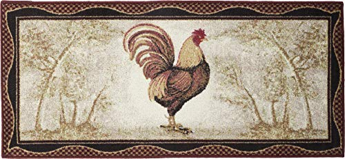 "Mayberry Rugs Cozy Cabin Tall Rooster 20""x44"""