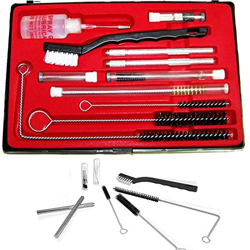 XtremepowerUS 22Pcs Professional Spray Gun Cleaning KIT for All Hvlp, Gravity-Detail-Airbrush