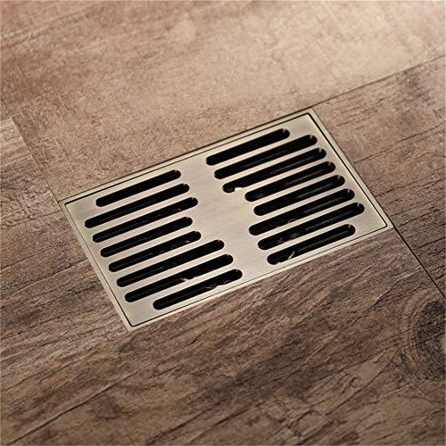 wastafel afvoerfilter rechthoekige deodorant brons messing badkamer vloer afvoer tegel geplaatst in douche wastafel drainage filter voor keuken toilet garage