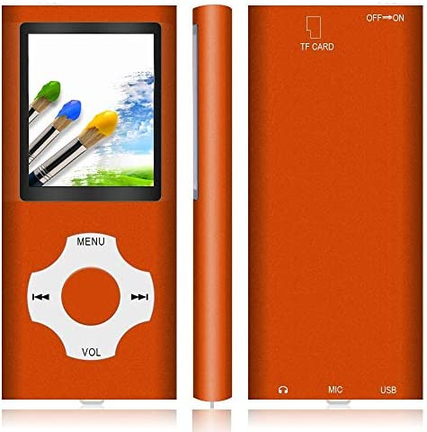 """MP3 Player / MP4 Player, Hotechs MP3 Music Player with 32GB Memory SD Card Slim Classic Digital LCD 1.82"""" Screen Mini USB Port with FM Radio, Voice Record"""