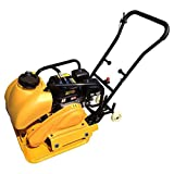 Wowdeal 6.5HP Compactor Walk-Behind Temper Ramoner Gas Vibratory Plate with Water...