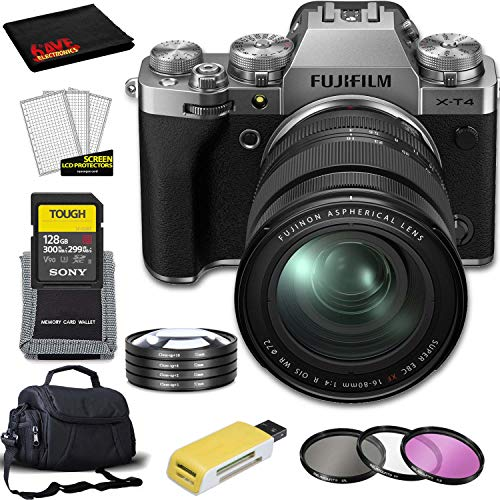 Best Review Of FUJIFILM X-T4 Mirrorless Digital Camera with 16-80mm Lens (Silver) with All Inclusive...
