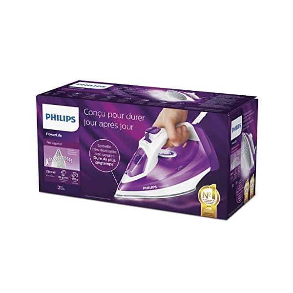 Philips Powerlife GC2991/30 – Plancha Ropa Vapor, 2300 W, Golpe Vapor