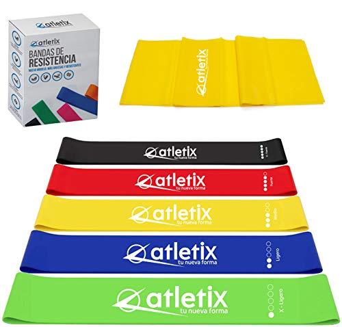 ligas de resistencia para gym fabricante Atletix Fitness