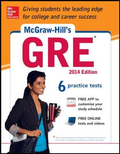 Mcgraw Hills Gre 2014 Edition Strategies 6 Practice Tests Test Planner App Mcgraw Hill Education Gre Premium