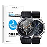 Omoton [3 Packs] Tempered Glass Screen Protector for Samsung Gear S3/Galaxy Watch 46 mm tempered glass screen samsung galaxy Dec, 2020