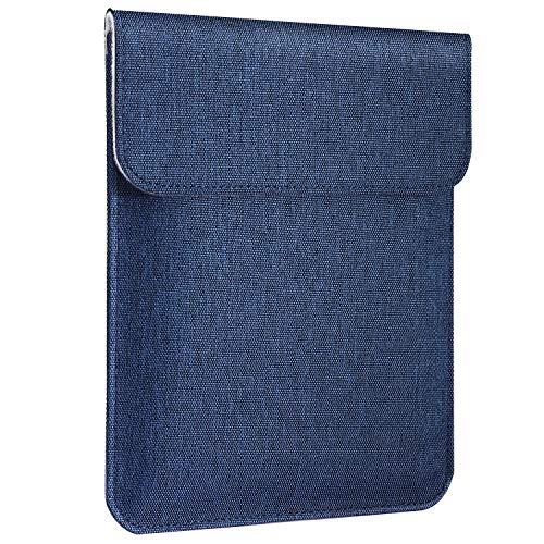 MoKo Funda Universal 7-8 In, Portátil de Poliéster en Estilo de sobre con Cierre Magnético Compatible con iPad Mini 4/3/2/1, Lenovo Tab 4 8.0, Samsung Galaxy Tab S2 8.0, ZenPad Z8S 7.9' - Índigo
