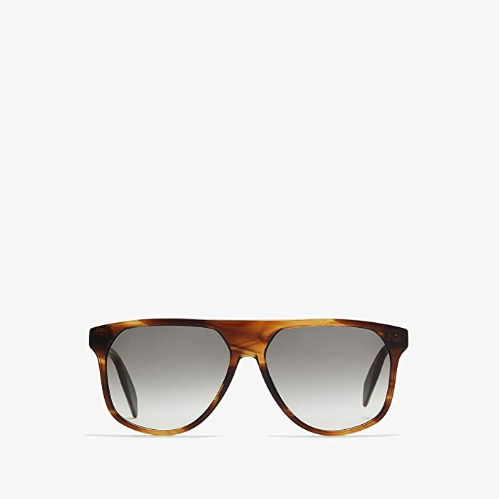 Alexander McQueen  AM0146S (Havana) Fashion Sunglasses