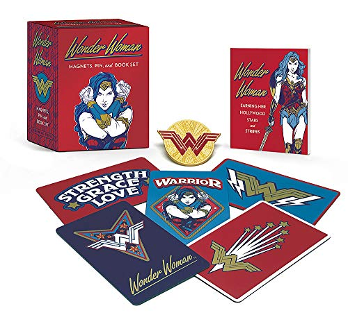Wonder Woman: Magnets, Pin, and Book Set (RP Minis)