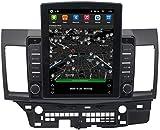 WYFWYT Nav para la navegación para Mitsubishi Lancer estéreo del Coche Sistema de navegación por satélite GPS Navigator Seguidor de Jugador WiFi Pantalla táctil del Espejo Enlace Bluetooth