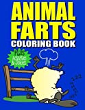 Animal Farts: Funny Farting Animals Coloring Book & Fart Activity Book For Kids: Includes Fart Jokes & Word Search Puzzles: Great Gift Idea for Kids & Adults (Funny Coloring Books) (Volume 1)