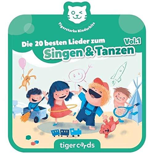 Tigerbox 4168 tigercard-Die 20 besten Lieder zum Singen & Tanzen