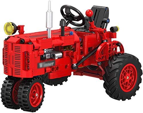 Julykai Weisheit entwickeln Traktor Bausteine Modell 302Stücke 1:12 Farm Traktor BAU Spielzeug Neuheit...