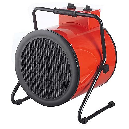 Nivel Calefactor Eléctrico Industrial Trifásico 9.000W, 400V termostato Ajustable IP24